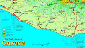 Maps Mexico Map Mexico West Coast Angelr Me
