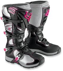 blue dirt bike boots best womens motocross gear dennis kirk powersports blog