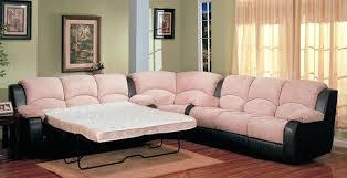 Microfiber Sleeper Sofa Awesome Microfiber Sectional Sleeper Sofa And Medium Size Of