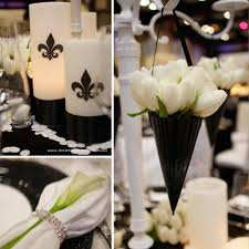 Black And White Centerpieces For Weddings by 191 Best Black And White Party Ideas Images On Pinterest