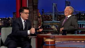 David Letterman Desk Stephen Colbert To Replace David Letterman On U0027late Show
