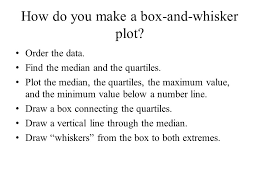 lesson 3 4 box and whisker plots ppt video online download