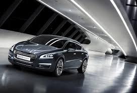 peugeot luxury sedan 5 by peugeot the luxurious future saloon