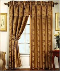 Curtains 100 Length Elegant Patricia Valance Curtain Set From Collections Etc And 35