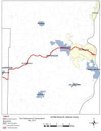 Ohio On Us Map by Plans Us Bike Route 50 Proposed Route