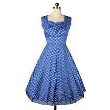 wholesale womens polka dot 1950s vintage retro swing tea party