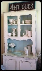 Vintage China Cabinets White Corner China Cabinet Foter