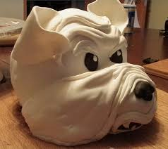 of a bull dog cake picture great dog birthday cakes for dogs png