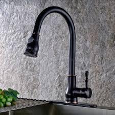 1 hole kitchen faucet gooseneck single lever 1 hole solid black kitchen faucet solid brass