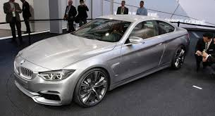 bmw 4 series used bmw 4 series coupe concept in the flesh from the detroit auto