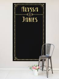 Custom Backdrops Art Deco Wedding Backdrop Custom Backdrop Design By Miss Design