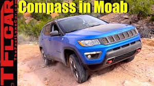 2018 jeep tomahawk 2017 jeep compass trailhawk moab off road adventure review youtube