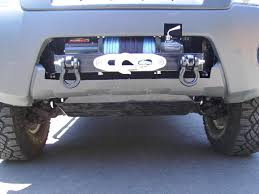 2000 nissan frontier custom done u003e winch mount in stock bumper pic heavy update 6 20 11