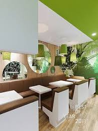 Entrance Aisle Design Photo The Funky Chicken Fastfood - Fast food interior design ideas
