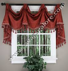 Burgundy Curtains With Valance Serenity Victory Valance Burgundy Curtains Pinterest