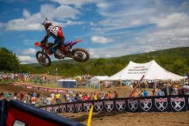 pro motocross racer turning mx pro matt bisceglia and shane mcelrath