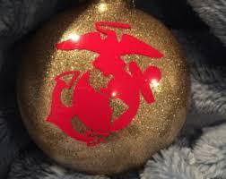usmc handmade wood ornament united states marine corps gift