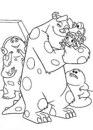 disney monsters coloring pages coloringstar