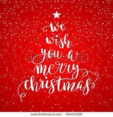 we wish you merry stock vector 494424856