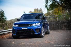 range rover svr 2016 2016 range rover sport svr review video performancedrive