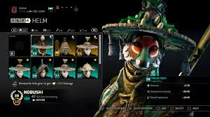 208 Likes 3 Comments Nobu Nobu Helm Is Nuts Forhonor