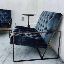 structure canapé canapé velours structure métal mobilier furniture