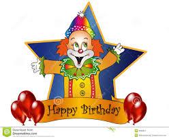 clowns for birthday happy birthday royalty free stock photography image 6660927