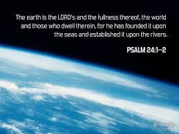 praise and thanksgiving verses psalm 24 1 u201310
