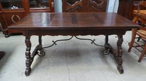 french oak spanish style desk french antiques melbourne