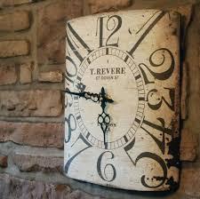 pottery barn large wall clocks