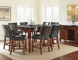 Dinner Table Set by Granite Dining Table Set Flooding The Dining Room With Elegance