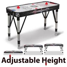 nhl premium 84 attacker hover air hockey table nhl 80 inch air powered hover hockey table with bonus table tennis