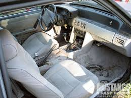 fox mustang interior restoration 1990 ford mustang coupe interior restoration part 3
