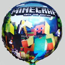 minecraft balloons product minecraft foil balloon this party