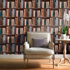 41 bookcase wallpaper