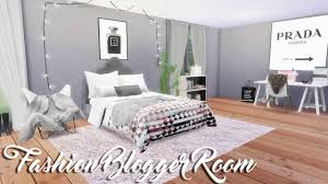 Fashion Bedroom The Sims 4 Fashion Blogger Room U2014 Room Build Youtube