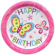 birthday supplies birthday party plates dollartree