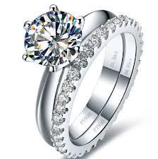 wedding band names aliexpress buy 14k name brand jewelry custom 1 1 copy 1 5ct