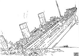 coloring pages of the titanic throughout omeletta me