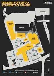 Map East Coast East Coast College Lowestoft