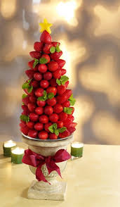Edible Decorations For Christmas Tree by How To Make A Very Berry Edible Centerpiece Strawberry Tree