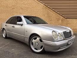 mercedes e55 amg 5 4 v8 m113 auto high spec 380 bhp rwd