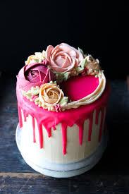 the hottest cake trend delish u0026 fun colour drip cakes wedding