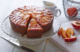 nectarine upside down cake tesco real food