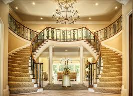 Lobby Stairs Design Curved Staircases Stair Railing Design