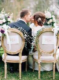 Wedding Chair Signs Unique Wedding Chair Ideas Wedding Chairs Decoration