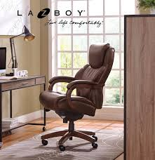 Blue Leather Executive Office Chair Amazon Com La Z Boy Delano Big U0026 Tall Executive Bonded Leather