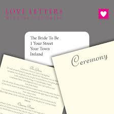 Catholic Wedding Booklet Wedding Ceremony Booklet Sample