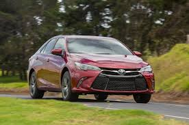 yellow toyota camry 2015 toyota camry xse v 6 first test motor trend
