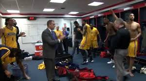 all access indiana pacers locker room celebration youtube